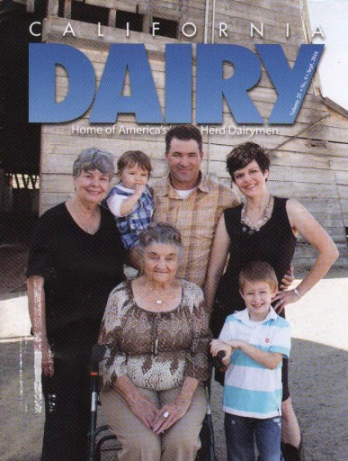 Media Scan for California Dairy