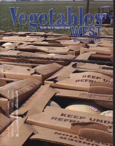 Media Scan for Vegetables West