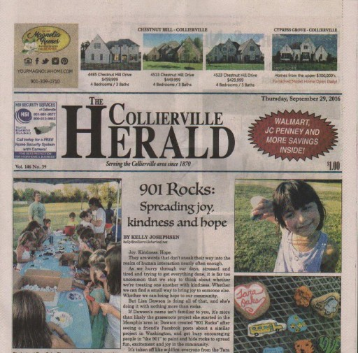 Media Scan for Collierville Herald