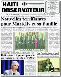 Media Scan for Haiti Observateur