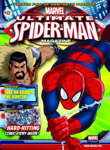 Media Scan for Marvel Ultimate Spiderman