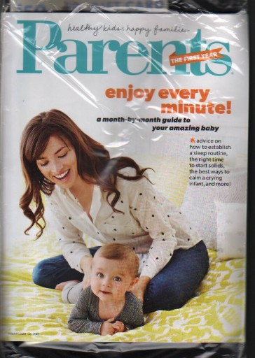 Media Scan for Parents Magazine- The First Year