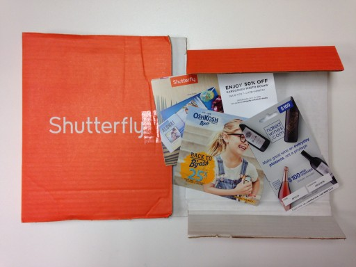 Media Scan for Shutterfly Package Insert