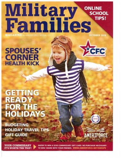 Media Scan for Military Families Magazine by AmeriForce