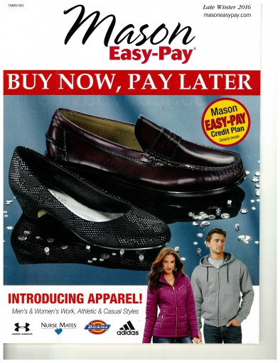 Media Scan for Mason Easy Pay Catalog Blow-In