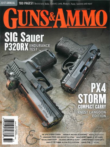 Media Scan for Guns & Ammo Annual