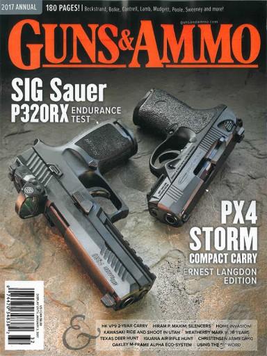 Media Scan for Guns & Ammo Annual