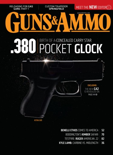 Media Scan for Guns & Ammo Pistol