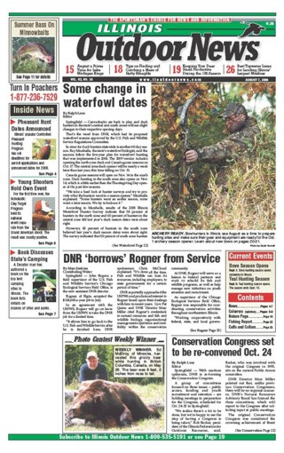 Media Scan for Illinois Outdoor News