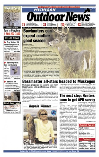 Media Scan for Michigan Outdoor News