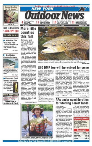 Media Scan for New York Outdoor News