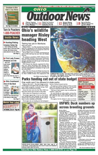 Media Scan for Ohio Outdoor News