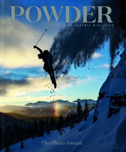 Media Scan for Powder- The Skiers Magazine