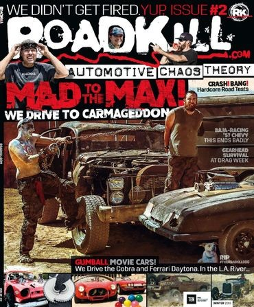 Media Scan for Roadkill