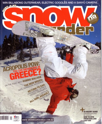 Media Scan for Snowboarder Magazine