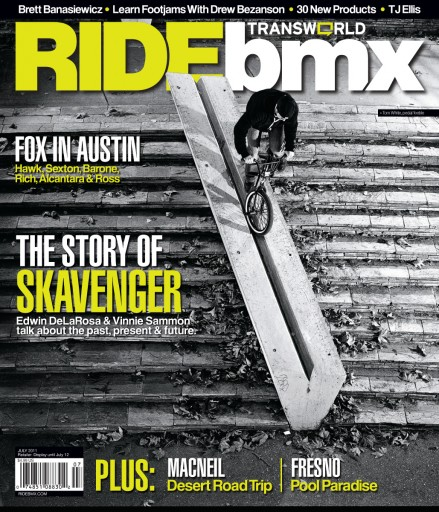 Media Scan for Transworld RIDEbmx