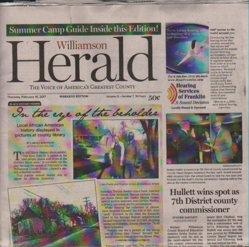 Media Scan for Williamson Herald