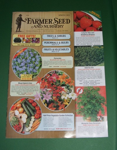 Media Scan for Farmer Seed Catalog Inserts