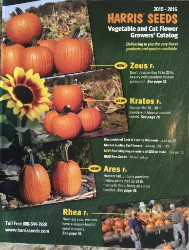 Media Scan for Harris Seeds Catalog Blow In