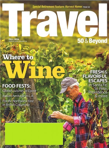Media Scan for Travel 50 & Beyond Magazine
