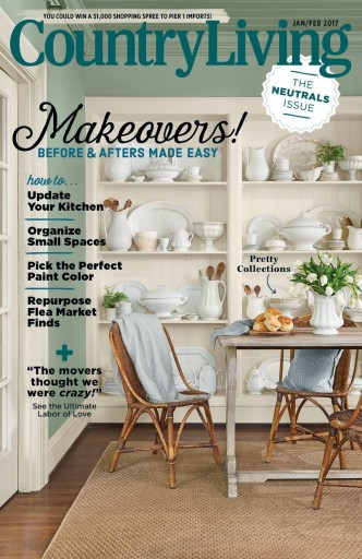 Media Scan for Country Living Magazine