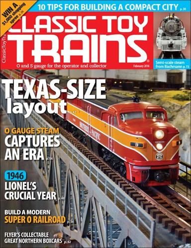 Media Scan for Classic Toy Trains E-Newsletter