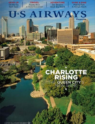 Media Scan for US Airways Magazine