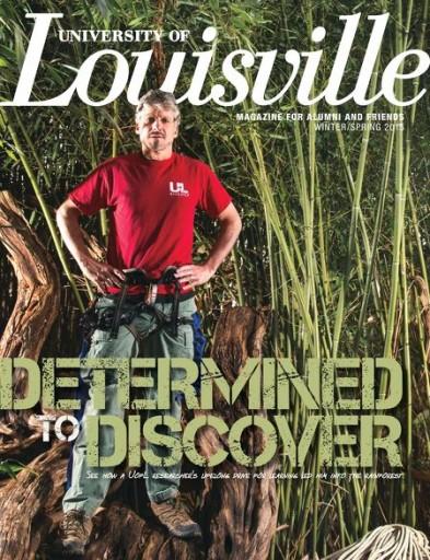 Media Scan for University of Louisville Magazine