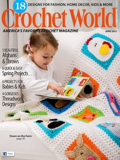 Media Scan for Crochet World Polybag