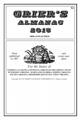 Media Scan for Grier's Almanac