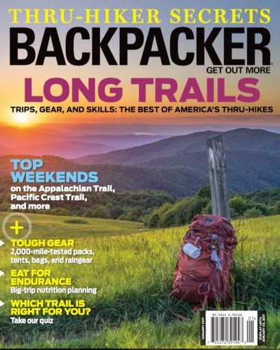 Media Scan for Backpacker Magazine