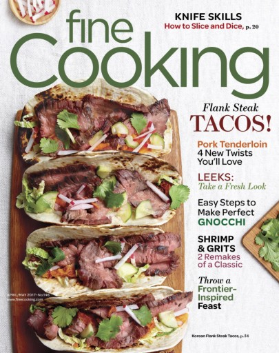 Media Scan for Fine Cooking Magazine