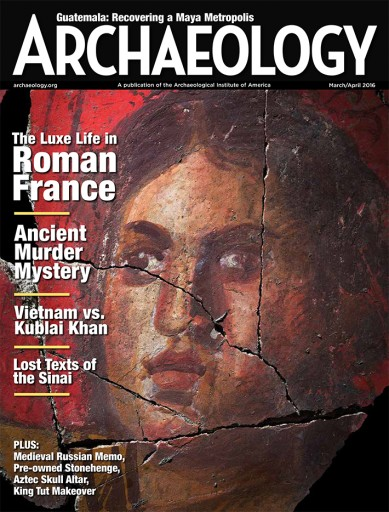 Media Scan for Archaeology Magazine