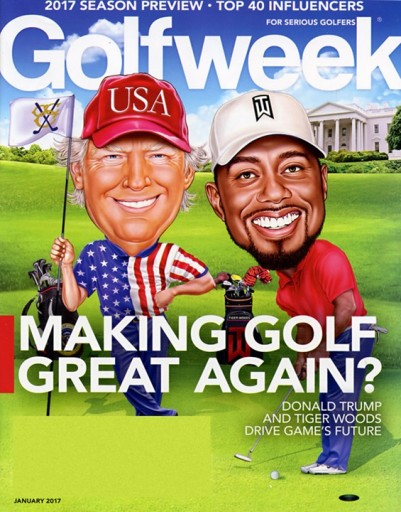 Media Scan for GolfWeek Magazine