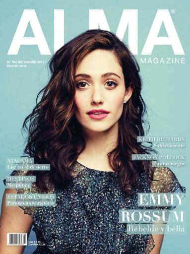 Media Scan for Alma Magazine