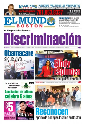Media Scan for El Mundo - Boston