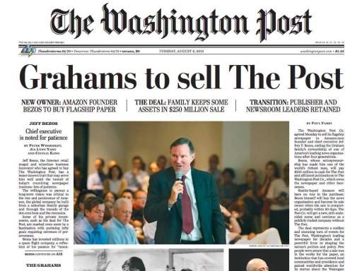 Media Scan for Washington Post