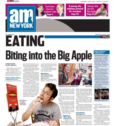 Media Scan for amNew York