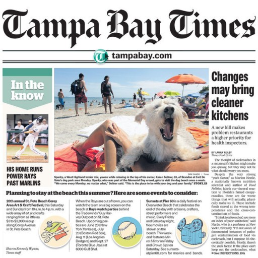 Media Scan for Tampa Bay Times