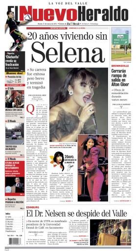 Media Scan for El Nuevo Heraldo - Brownsville
