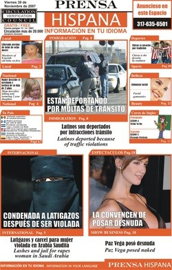 Media Scan for Prensa Hispana Phoenix