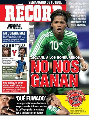 Media Scan for Record - Semanario De Futbol
