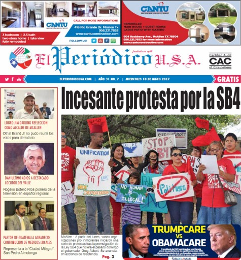 Media Scan for El Periodico U.S.A.- Brownsville