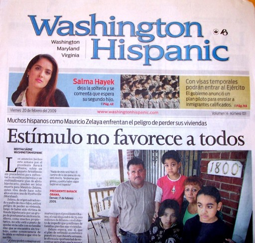Media Scan for Washington Hispanic - DMV