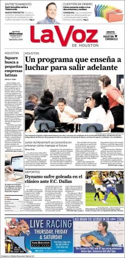 Media Scan for La Voz de Houston