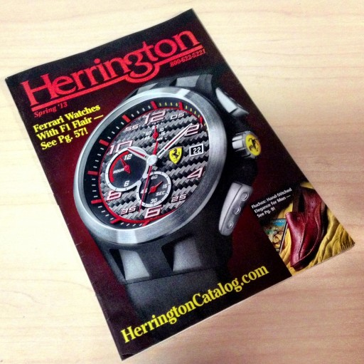 Media Scan for Herrington Catalog Blow-In Program