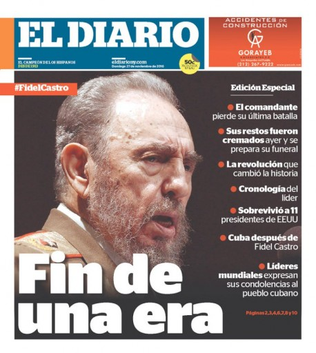 Media Scan for El Diario La Prensa - New York