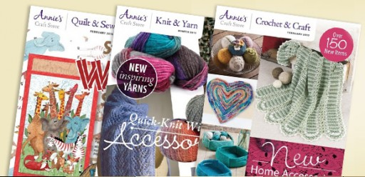 Media Scan for Annie's Crochet & Craft Catalog Blow-In