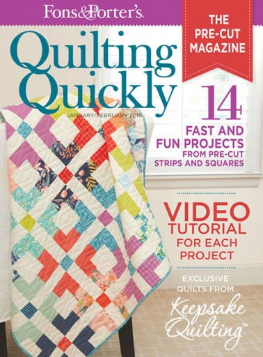 Media Scan for Fons & Porter's Quilting Quickly