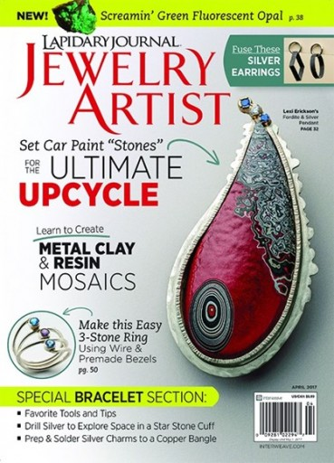 Media Scan for Lapidary Journal Jewelry Artist